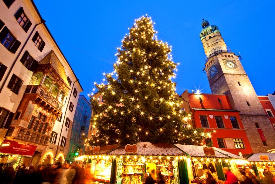 встреча Нового года в Австрии