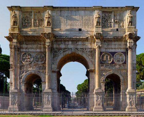 Триумфальные арки в Риме