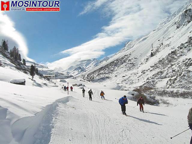 горнолыжный курорт ишгль