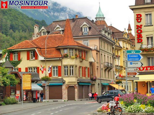 Курорты Швейцарии - Интерлакен