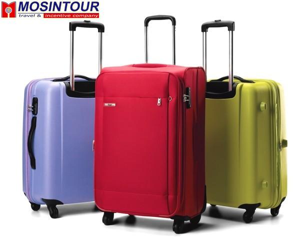 Купить дорожный чемодан колесах