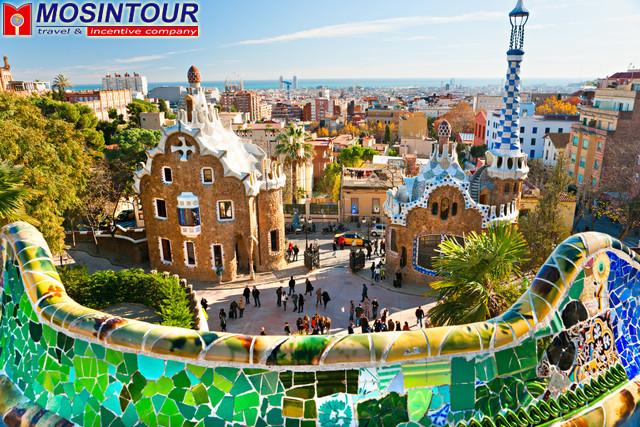 Барселона города и курорты испании