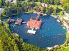 Озеро Хевиз - это самое большое термальное озеро в Европе по площади (47 500 м?)