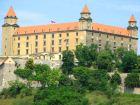 Братиславский королевский замок. Здесь проводил свои заседания венгерский сейм (парламент)