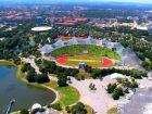 Олимпийский парк Мюнхена Olympiapark Munchen
