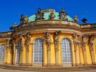 Дворец Сан-Суси (Sanssouchi Palace) в Потсдаме