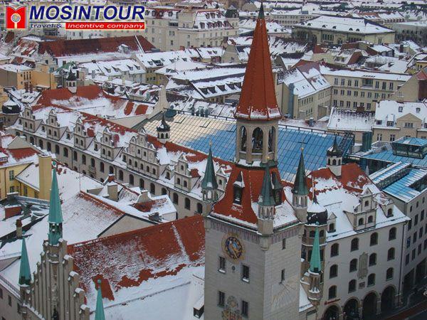 мюнхен фото зимой