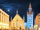 Вид на площадь Мариенплац в Мюнхене