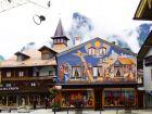 Обераммергау - дома в этом городе украшены фресками со сценами из сказок