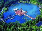 Красивое озеро Хевиз, Венгрия