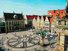 Рыночная площадь (Der Marktplatz) в Бремене