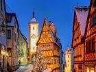 Средневековый город Ротенбург