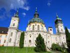 Монастырь Этталь в Баварских Альпах близ Обераммергау